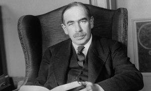 John Maynard Keynes.  English economist, 1883-1946.