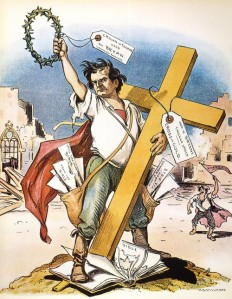 """You shall not crucify mankind upon a cross of gold."" - William Jennings Bryan, 1896"
