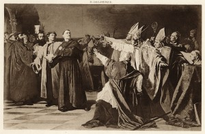 Luther at the Diet of Worms. April 17, 1517.