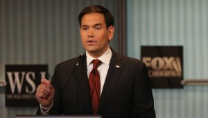 Republican Sen. Marco Rubio at the Republican debate, November 10, 2015.