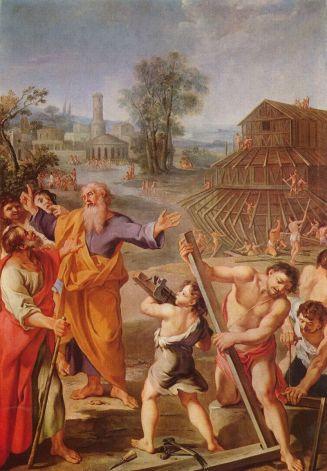 The Building of Noah's Ark_1675