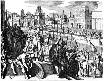 Elisha Prophesies the End of Samaria's Siege