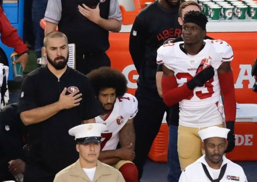 Kaepernick_Takes a Knee