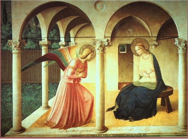 The Annunciation_Fra Angelico_15th c.