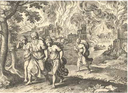 Escape of Lot from Sodom