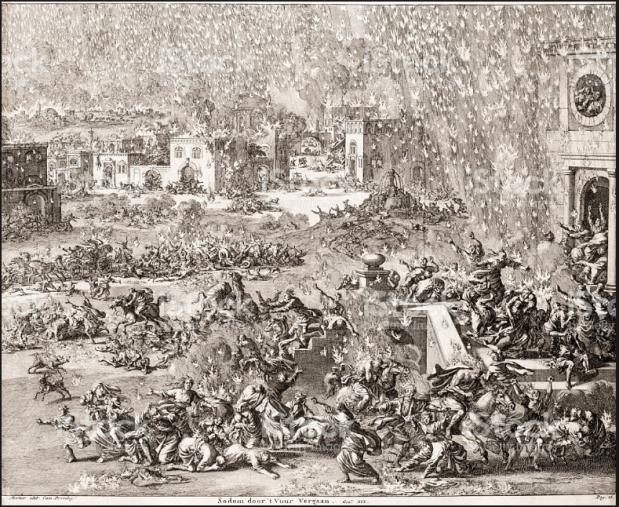 Sodom_Jan Luyken 1700
