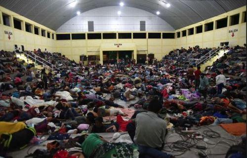 Caravan at CC in Guatamala