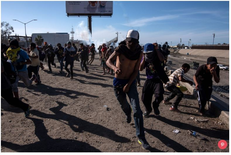 Migrants_San Ysidro_November 25 2018