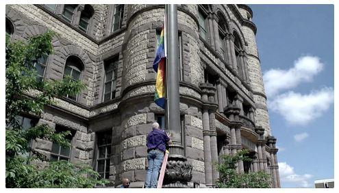 Pride 2019_Pride Flag Cincinnati