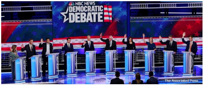 Dems show of hands illegal health care benes
