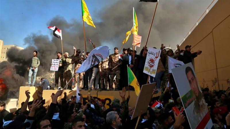 Baghdad Embasssy Attack