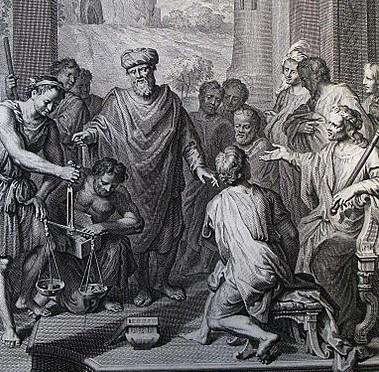 The_Phillip_Medhurst_Picture_Torah_122._Abraham_purchasing_Ephron._Genesis_cap_22_v_16._Hoet (2)